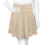 Retro Baseball Skater Skirt (Personalized)