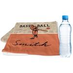 Retro Baseball Sports & Fitness Towel (Personalized)