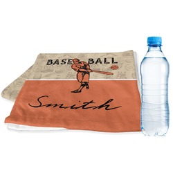 Retro Baseball Sports Towel (Personalized)