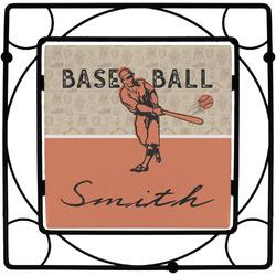 Retro Baseball Trivet (Personalized)