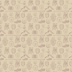 Retro Baseball Wallpaper & Surface Covering