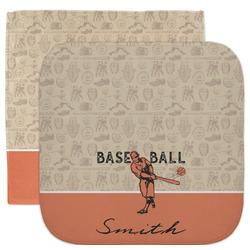 Retro Baseball Facecloth / Wash Cloth (Personalized)