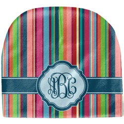 Retro Vertical Stripes2 Baby Hat (Beanie) (Personalized)