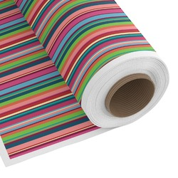 Retro Vertical Stripes2 Custom Fabric by the Yard (Personalized)
