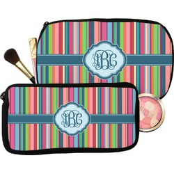 Retro Vertical Stripes2 Makeup / Cosmetic Bag (Personalized)