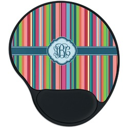 Retro Vertical Stripes2 Mouse Pad with Wrist Support