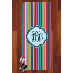 Retro Vertical Stripes2 Runner Rug - 3.66'x8' (Personalized)