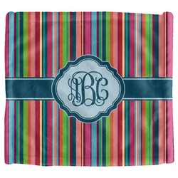 Retro Vertical Stripes2 Security Blanket (Personalized)