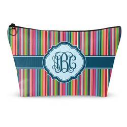 Retro Vertical Stripes2 Makeup Bags (Personalized)