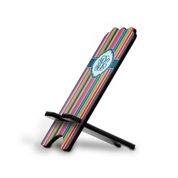 Retro Vertical Stripes2 Stylized Phone Stand (Personalized)