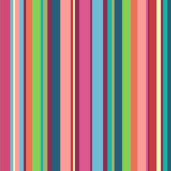 Retro Vertical Stripes2 Wallpaper & Surface Covering
