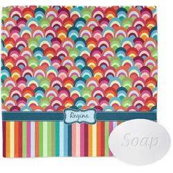 Retro Scales & Stripes Wash Cloth (Personalized)