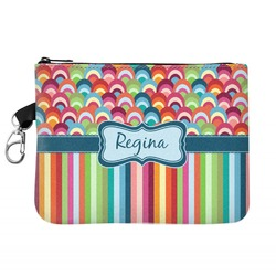 Retro Scales & Stripes Golf Accessories Bag (Personalized)