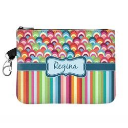 Retro Scales & Stripes Golf Accessories Bag (Personalized)