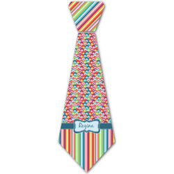 Retro Scales & Stripes Iron On Tie - 4 Sizes w/ Name or Text