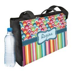 Retro Scales & Stripes Ladies Workout Bag (Personalized)