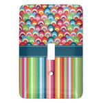 Retro Scales & Stripes Light Switch Covers (Personalized)