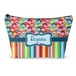 Retro Scales & Stripes Makeup Bags (Personalized)