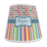 Retro Scales & Stripes Empire Lamp Shade (Personalized)