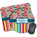 Retro Scales & Stripes Mouse Pads (Personalized)