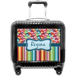 Retro Scales & Stripes Pilot / Flight Suitcase (Personalized)