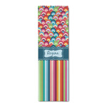 Retro Scales & Stripes Runner Rug - 3.66'x8' (Personalized)