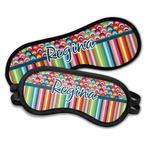 Retro Scales & Stripes Sleeping Eye Masks (Personalized)