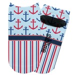 Anchors & Stripes Adult Ankle Socks (Personalized)