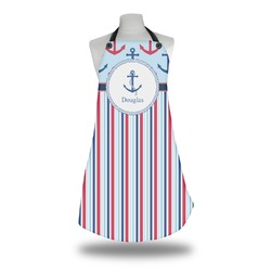 Anchors & Stripes Apron (Personalized)