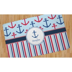 Anchors & Stripes Area Rug (Personalized)