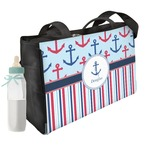 Anchors & Stripes Diaper Bag (Personalized)