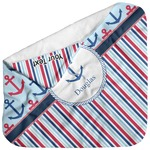 Anchors & Stripes Baby Hooded Towel (Personalized)