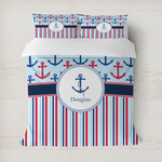 Anchors & Stripes Duvet Covers (Personalized)