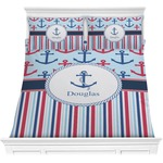 Anchors & Stripes Comforters (Personalized)