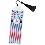 Anchors & Stripes Book Mark w/Tassel (Personalized)