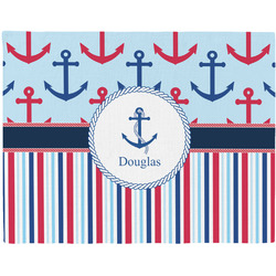 Anchors & Stripes Placemat (Fabric) (Personalized)