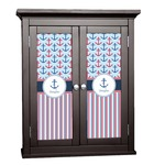 Anchors & Stripes Cabinet Decal - Custom Size (Personalized)