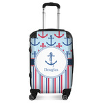 Anchors & Stripes Suitcase (Personalized)
