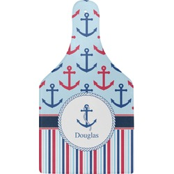 Anchors & Stripes Cheese Board (Personalized)
