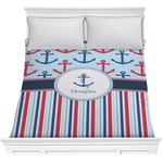 Anchors & Stripes Comforter (Personalized)