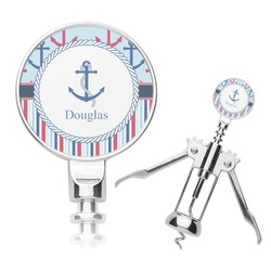 Anchors & Stripes Corkscrew (Personalized)
