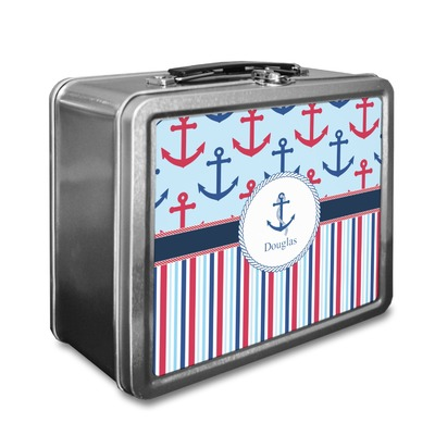 Anchors & Stripes Lunch Box (Personalized)