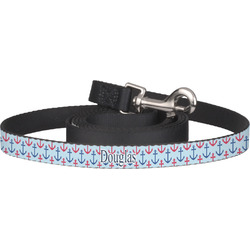 Anchors & Stripes Dog Leash (Personalized)