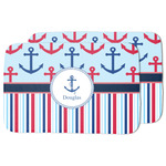 Anchors & Stripes Dish Drying Mat (Personalized)