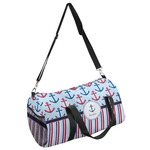 Anchors & Stripes Duffel Bag (Personalized)