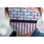 Anchors & Stripes Face Mask Cover (Personalized)