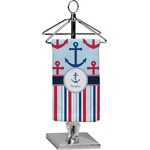 Anchors & Stripes Finger Tip Towel - Full Print (Personalized)