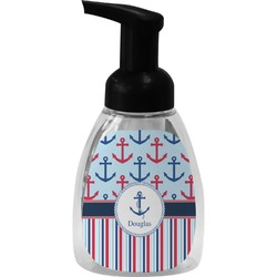 Anchors & Stripes Foam Soap Dispenser (Personalized)