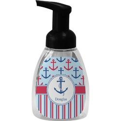 Anchors & Stripes Foam Soap Dispenser (Personalized)