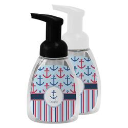 Anchors & Stripes Foam Soap Bottle (Personalized)